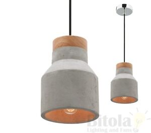 NEW-MERCATOR-MOBY-SMALL-CONCRETE-CEILING-PENDANT-LIGHT-WITH-OAK-TIMBER-TOP