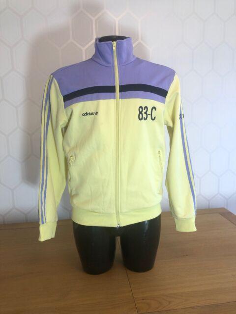Large Retro Vintage Adidas Tracksuit Jacket in Doncaster for