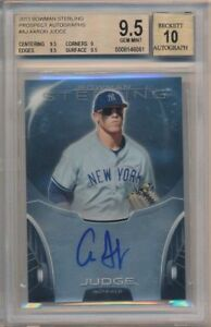BGS-9-5-AUTO-10-AARON-JUDGE-2013-Bowman-Sterling-Prospect-Autograph-RC-GEM-MINT