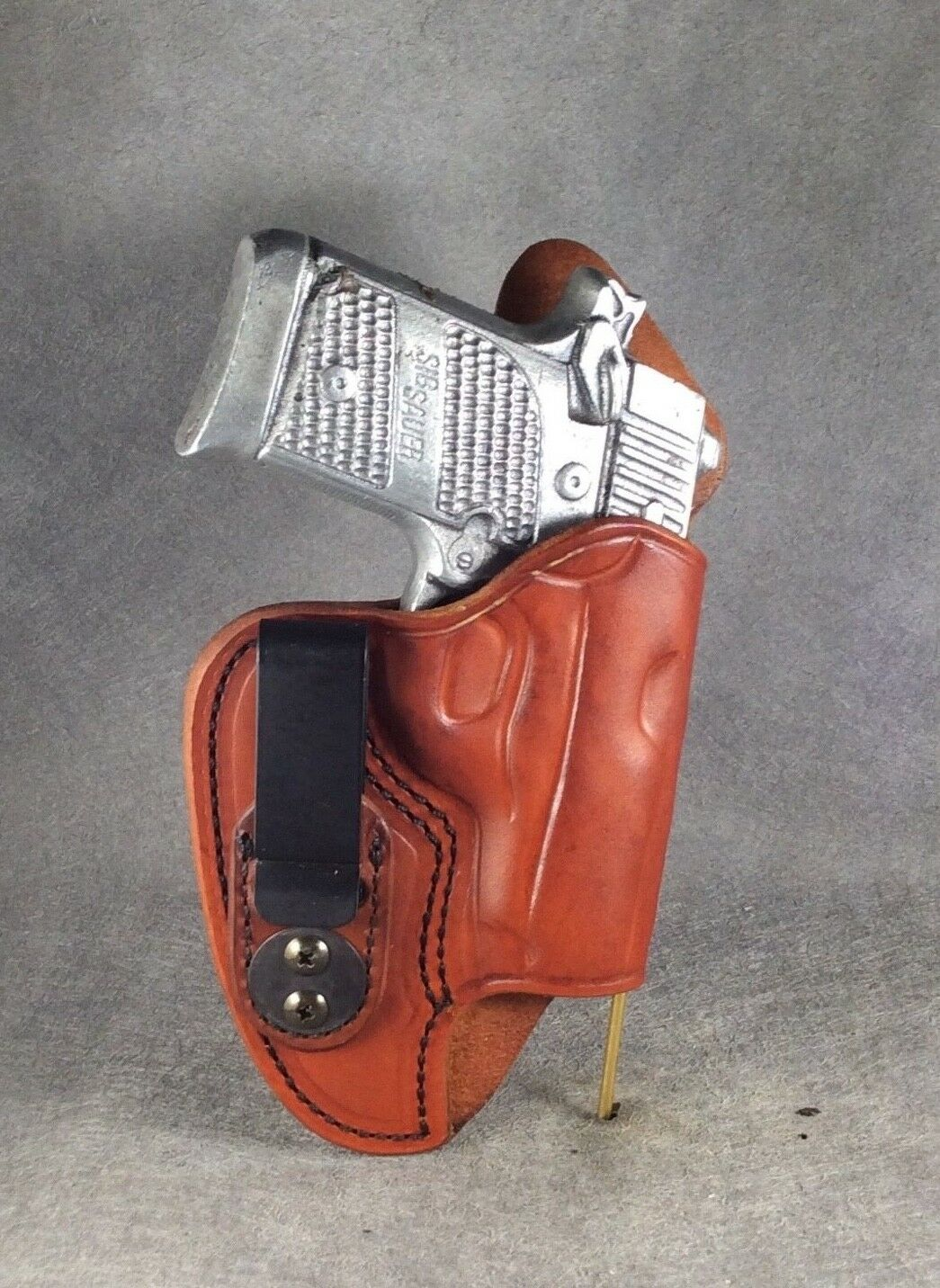 Sig Sauer P938 Concealed IWB Leder Gun Holster w/SS by ETW Holsters...  NC