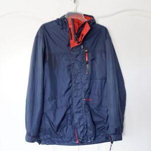 39ad2edd4188d TOMMY HILFIGER 90 s Vintage Hip Hop Rain Windbreaker Jacket L