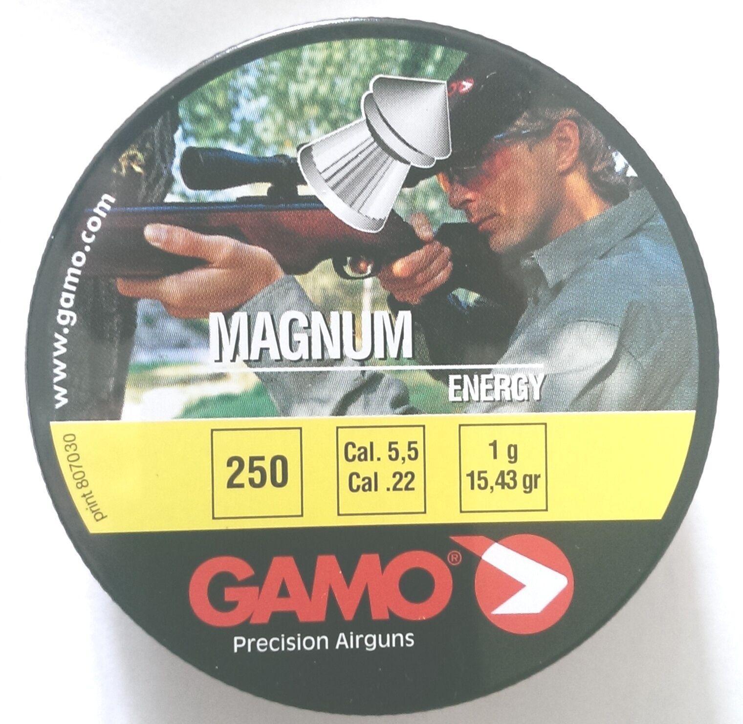 Zwei Dosen (500) Gamo .22 Magnum Energie Luftgewehr Pistole Pellets 5.5mm BSA