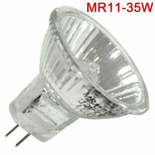 12V LED MR11 5W 10W 20W 35W Halogen Light Bulb Reflector Replace Spot Light Lamp