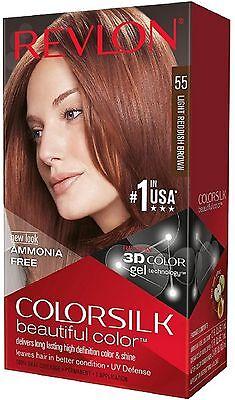 Revlon Colorsilk Hair Color 55 Light