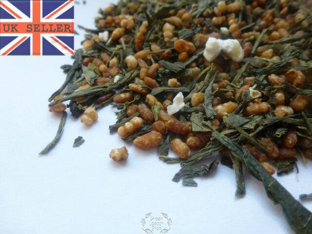 Genmaicha (Brown Rice Tea) Japan Style Green Tea  Loose Leaf 25g - 1000g