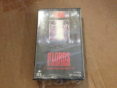 LORDS OF THE NEW CHURCH is nothing sacred CASSETTE SEALED 1983
