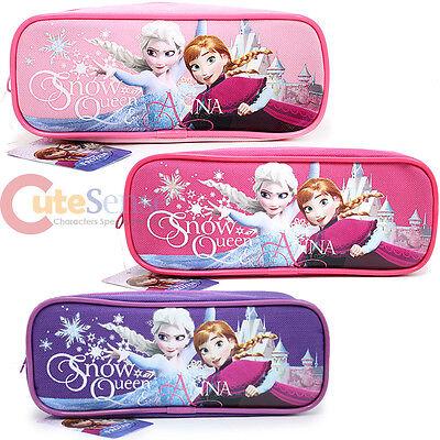 Disney Frozen Astuccio Penne Elsa E Anna Con Zip Borsa - 3 Colori
