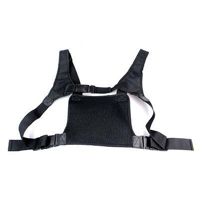 Walkie Talkie Chest Pocket Pack BackpackHandset Radio Accessory Holder Bag Case