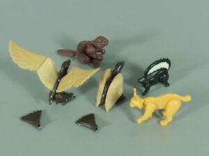 STECKTIERE-Tiere-Nordamerikas-1991-Komplettsatz