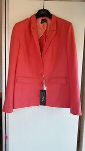 giacca-CAMOMILLA-donna-elegante-48-NEW-120-vestito-rosa-corallo-cerimonia-SALDI