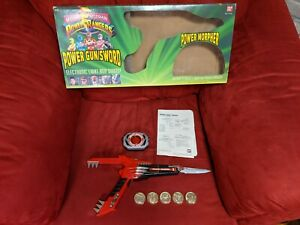 Mighty Morphin Power Rangers Power Gun/Sword with PowerMorpher in Box