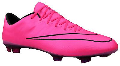 Nike Mercurial Vapor X FG Herren Fußballschuhe Nocken pink Gr. 47 NEU | eBay
