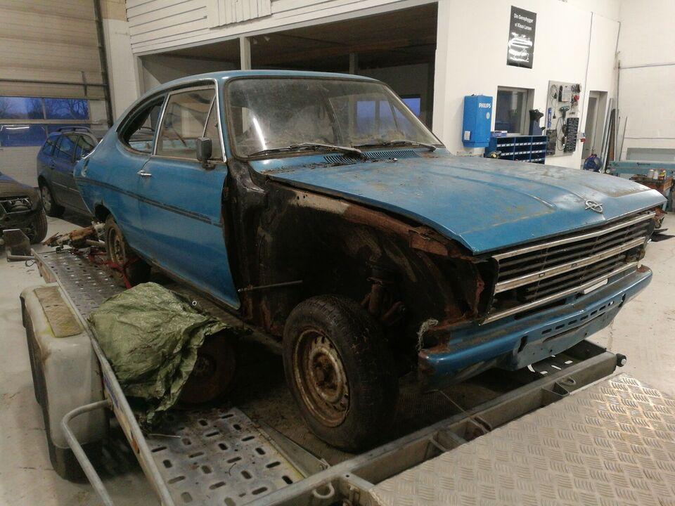 Opel Kadett, 1,9 LS Coupé Rallye, Benzin