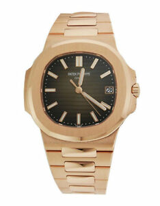 69a21efa64c Patek Philippe Nautilus 5711 18k Solid Rose Gold Automatic Mens ...