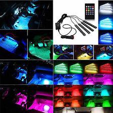4 X BANDES LED DE 30cm + télécommande 106 206 CC 306 406 407 TUNING AUTO NEON