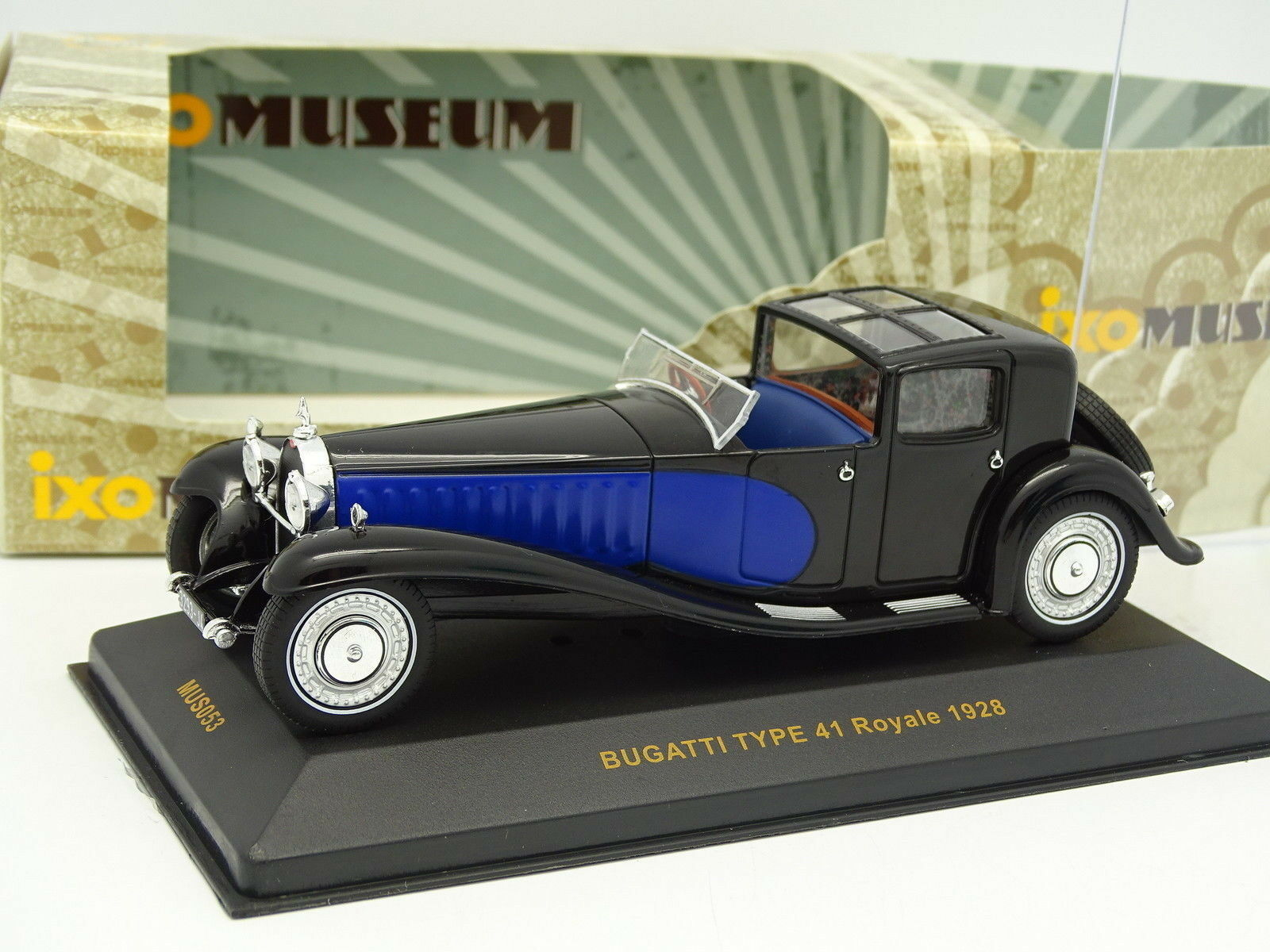 Ixo 1 43 - Bugatti Type 41 Royale 1928