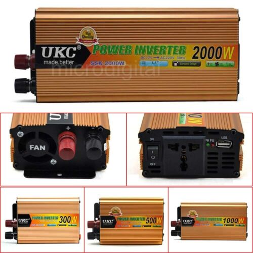 Nouveau 12 V boost pour 220 V 300 W 500 W 1000 W 2000 W Modified Sine Wave Power Inverter