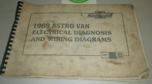 1989       CHEVROLET       ASTRO       VAN    ELECTRICAL DIAGNOSIS AND WIRING