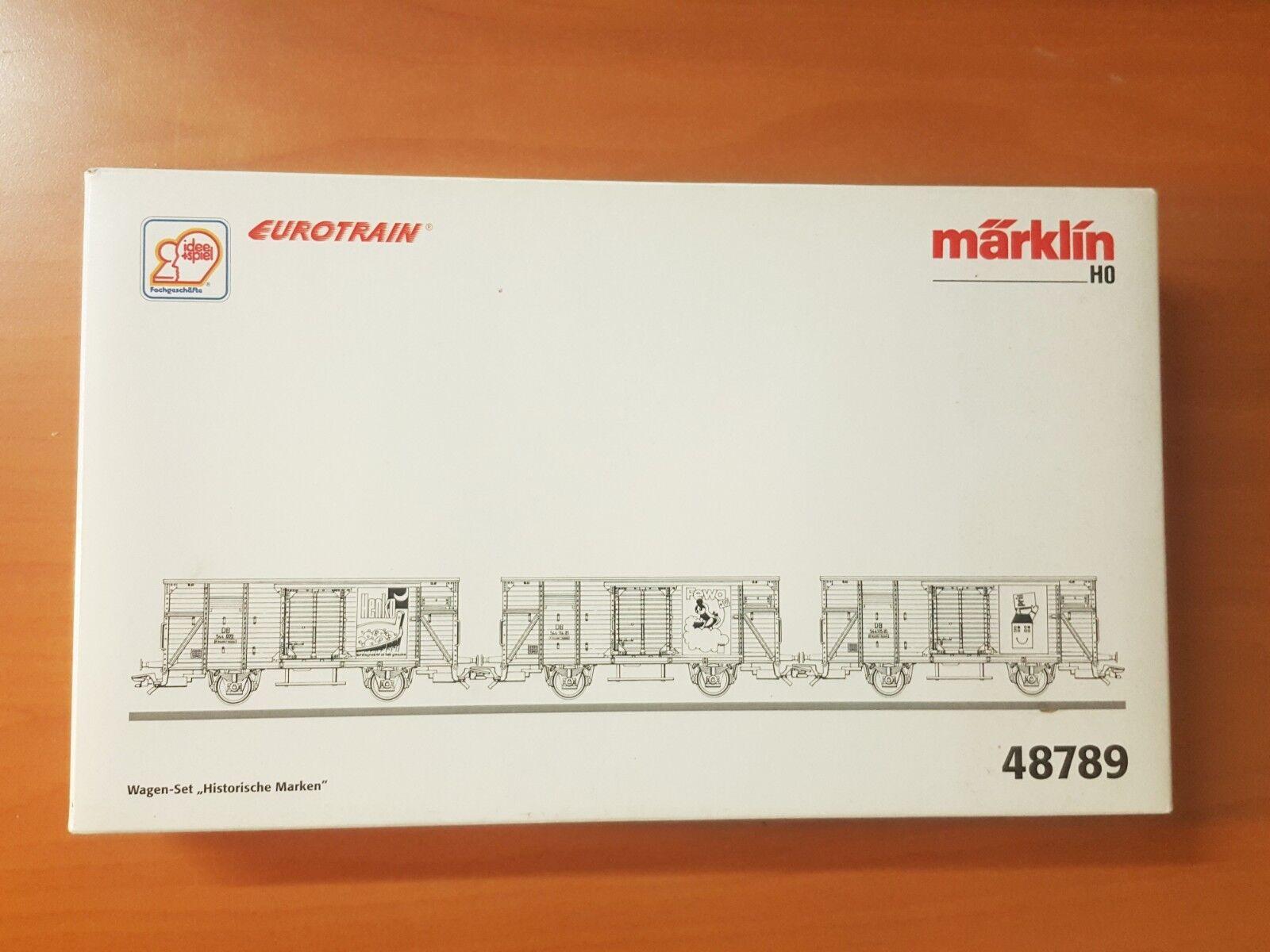 Märklin H0 48789  Wagen Set Historische Marken