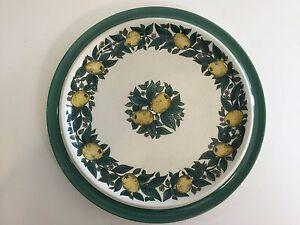 Bavaria-Savoy-W-Goebel-W-Germany-Handdecorated-Lemon-amp-Leaves-Dinner-Plate-10-034