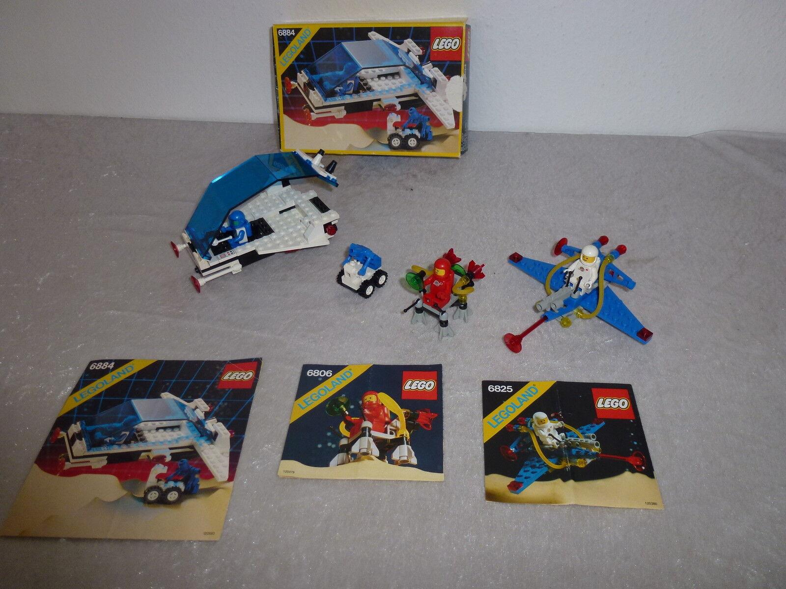 LEGO 6884+6825+6806+ OVP + OBA  rarità * del 1985/87