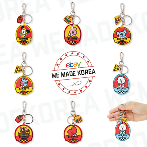 BT21 Character Bite Keyring Keychain 7types Official K-POP Authentic Goods
