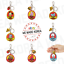 miniature 1 - BT21 Character Bite Keyring Keychain 7types Official K-POP Authentic Goods