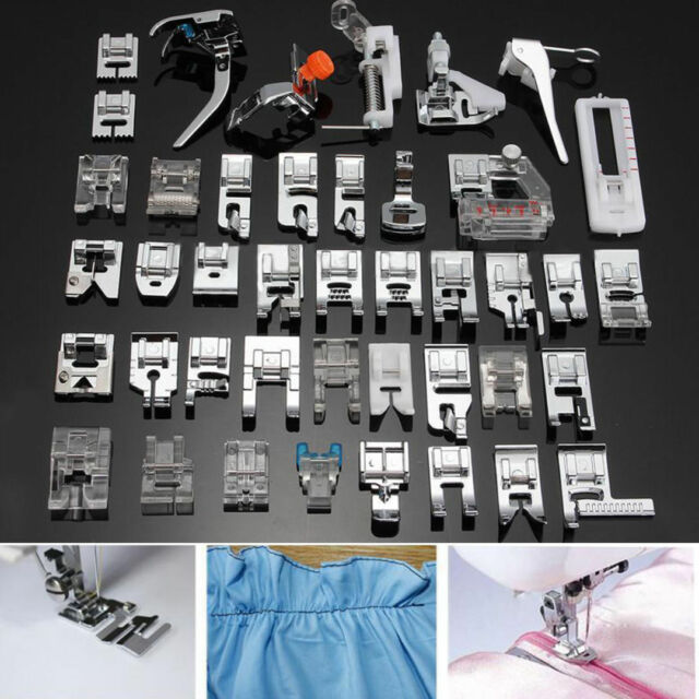 40 Pcs Sewing Machine Presser Foot Feet Tool Kit Set For Brother Cool Compare Singer And Brother Sewing Machines