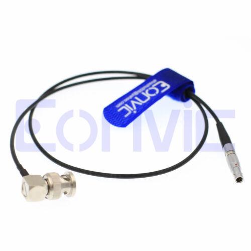 Red Epic Cámara Timecode TC Cable Dispositivos de sonido Zoom F8 BNC a 4 Pin