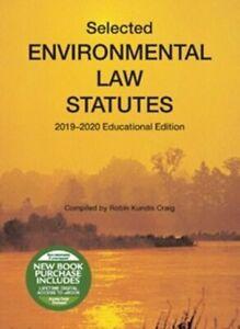 Selected-Environmental-Law-Statutes-2019-2020-Educational-Edition-by-R-Craig