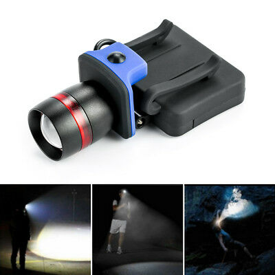 ThorFire LED Cap Light Headlamp 3 Modes Ball Hat Lamp Zoomable Flashlight AAA LY