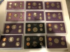 ESTATE SALE LOT US $PROOF SETS$ NO BOXES PRICED TO SELL READ DESCRIPTION