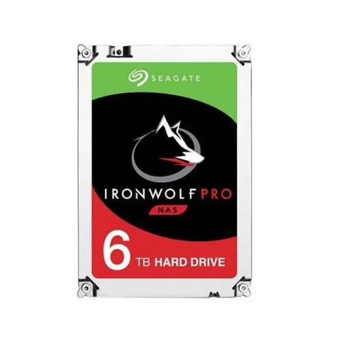 Seagate IronWolf Pro NAS ST6000NE0021 6TB 7200RPM SATA 6.0 GB//s 256MB HDD