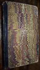 1850 Jan-Jun Bound Victorian Childrens Magazine Antique Book