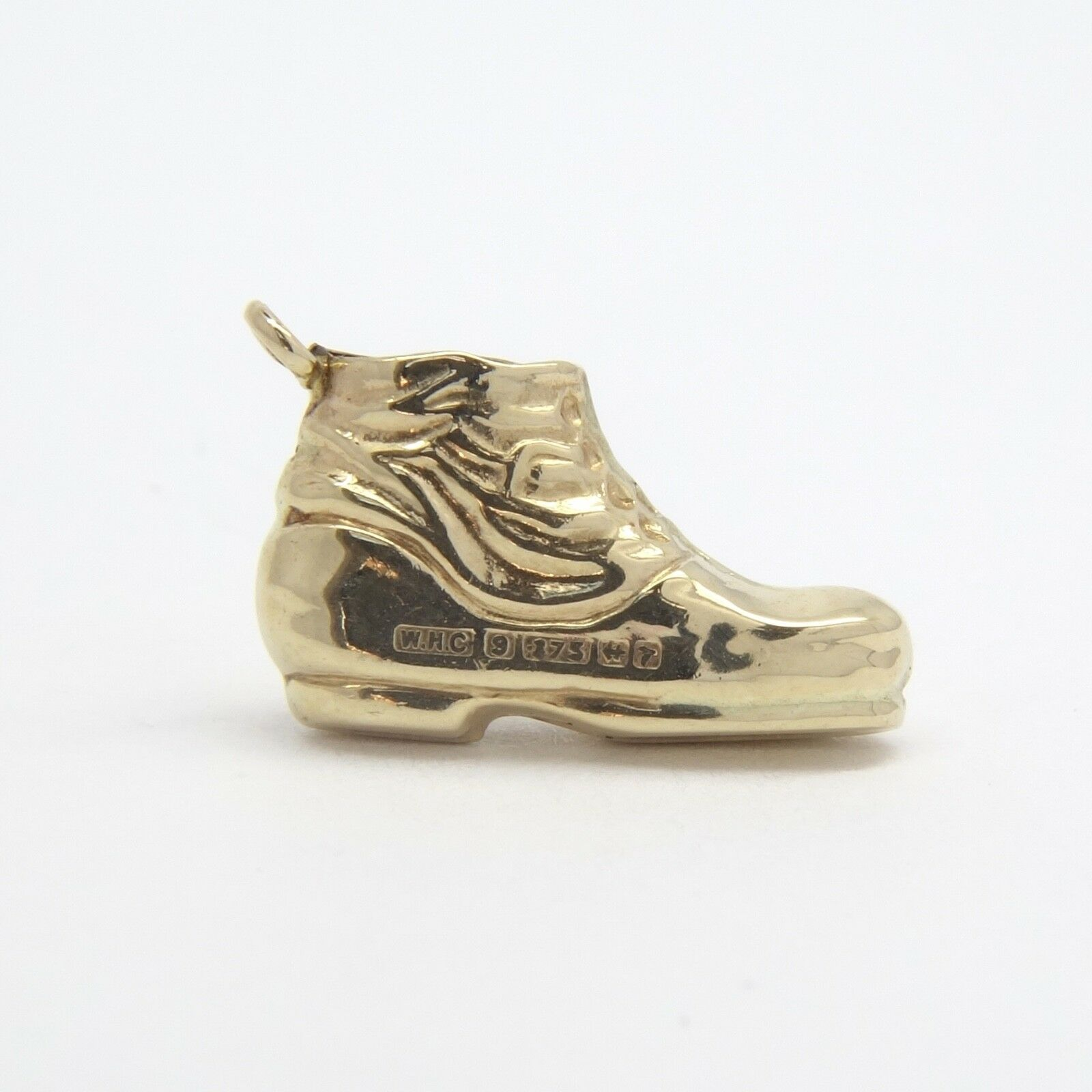 Boot Charm - 9ct Yellow gold - 14x9mm