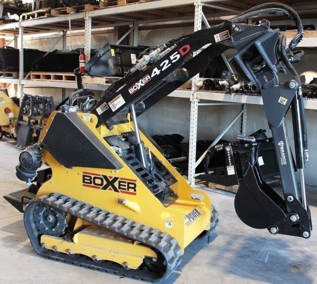 Universal Backhoe Attachment By Bradco, Fits Mini Skid Steers, w/Swing, Digs