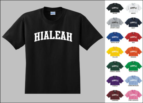 City of Hialeah College Letters T-shirt