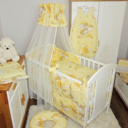 Bébé Set de Lit Linge Ciel Nid Pour Coussin Couverture 100x135 Nouveau
