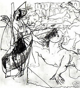 PABLO-PICASSO-1960-PRINT-with-COA-INCREDIBLE-Pablo-Picasso-UNIQUE-RARE-ART