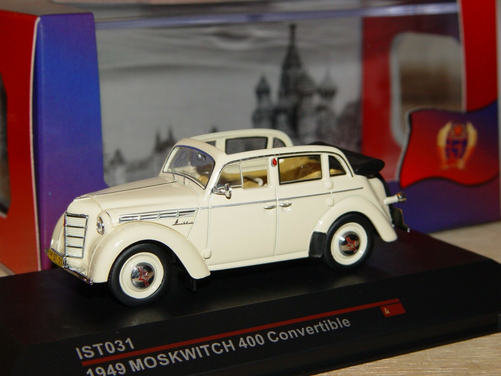 MOSKVITCH 400 congreenible 1949 1 43 IST Models