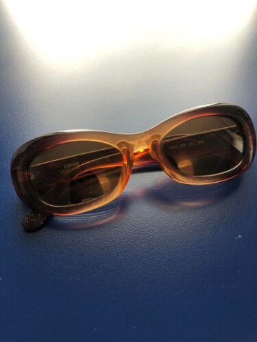 Vintage Gianni Versace brown gradient sunglasses