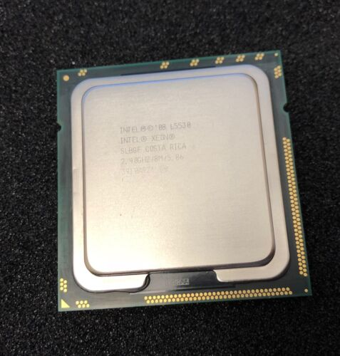 Intel Xeon L5530 SLBGF 2.40GHz 8MB Quad Core LGA1366 CPU Processor
