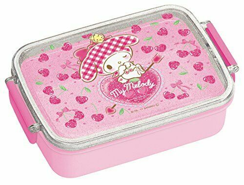 Skater Lunch box 450ml Sanrio My Melody Heart PINK Made in Japan Bento Box