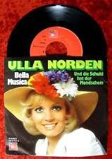 Single Ulla Norden: Bella Musica (BASF 06 12743-3) D 1976