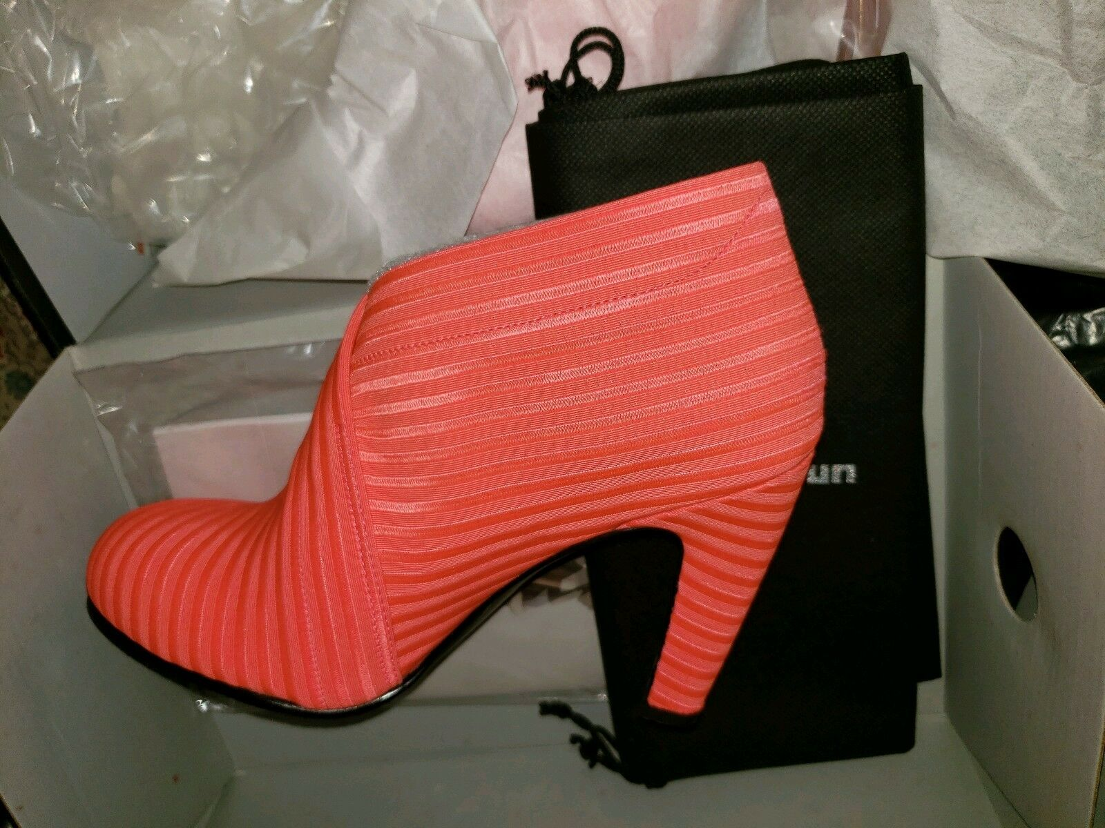 United Nude Nude Nude Fold Over Hi Ankle bottes rouge New In Box Taille 6 37EU 480805733 Fluo 9a826c