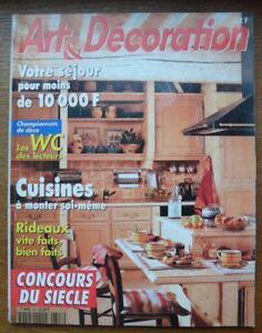 Bien Art Et DÉcoration N° 347 De Janv./fev. 1997 Les Juke-box,... Ni Trop Dur Ni Trop Mou