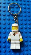 Lego Keychain Classic Space Man RARE White minifig Spaceman VTG Key Chain