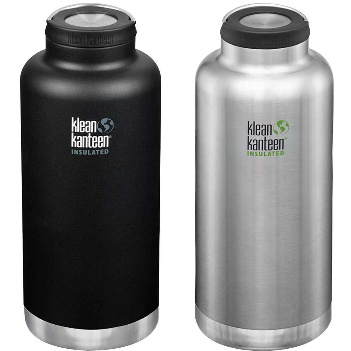 Klean Kanteen 64 oz. TKWide Insulated Stainless Steel Bottle with Wide Loop Cap