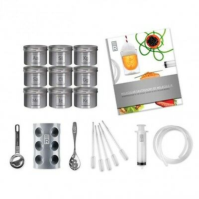 Molecular Gastronomy Deluxe Kit with Book