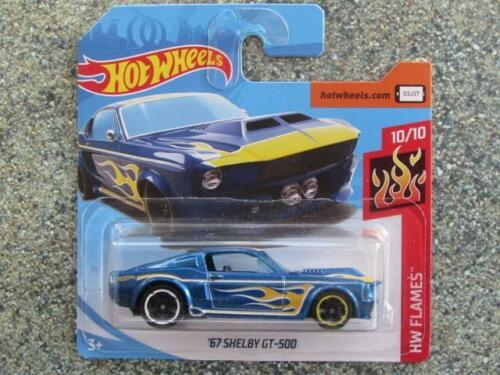 Autos Hot Wheels 2019 #033/250 1967 Ford Shelby Gt-500 Rot @ B